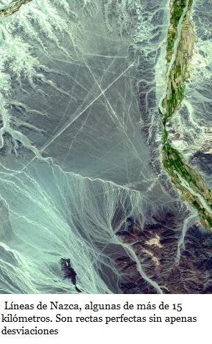 vista de nazca desde satelite